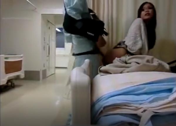 ≪※数量限定※削除される前に≫非番看護師を病室でハメ撮り≪極秘≫