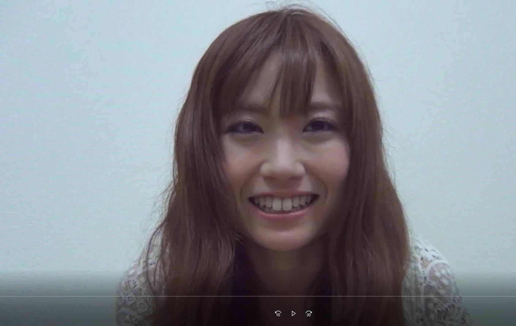 関西弁スレンダー彼女に自撮りオナさせて…