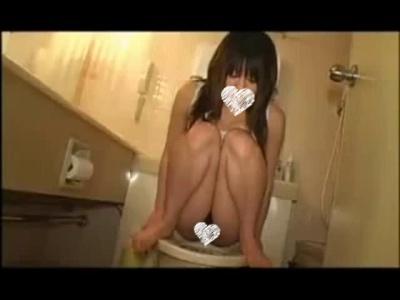 素人にどこまでやれるか実験してみた♡ラブホで トイレ 中出し フェラ抜き♡【個人撮影・無】