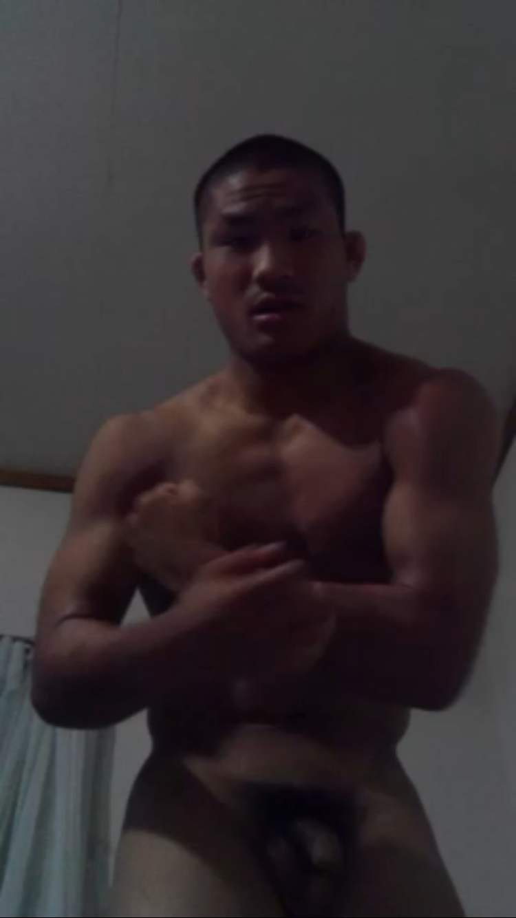 イケメンのオナニー36 筋トレ部のお兄さん