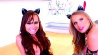 Aidra Fox & Jillian Janson - kitty …