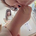 フルハイビジョン│石原ルリカちゃんが変態M男を足責め射精!【足責めドキュメンタリー】