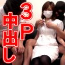 【3P中出し】お昼休みの美人看護師におっさん2人が肉棒注射で白いワクチンを処方してみたら淫乱エロエロナースになっちゃいましたw【個人撮影】
